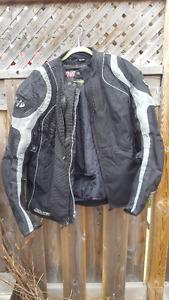 Joe Rocket Textile Motorcycle Jacket - Size XL