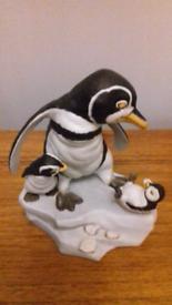 Franklin mint penguin