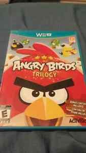 Angry Birds Trilogy for the Wii U