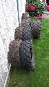 Can Am Outlander OE Rims and Tires.
