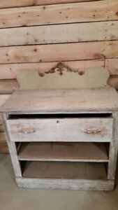Antique Buffet/Side Table