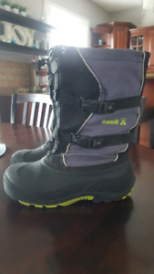 KAMIK boys/men winter boots size 7