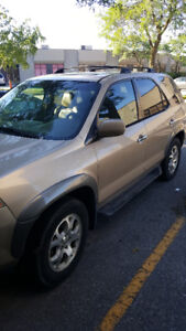 2001 ACURA MDX $1,700 OBO WITH NEW TRANSMISSION