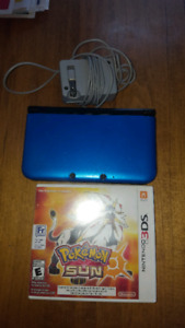 3ds XL with pokemon sun