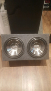 Subwoofer infinity reference 1200w ou 600rms