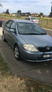 Toyota corolla ascent 4DR Sedan 2005 model St Albans Brimbank Area Preview