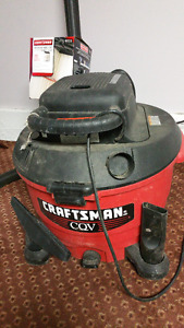 Craftsman 60 litre Convertible Wet and Dry Vacuum