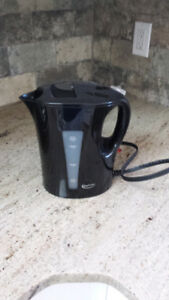 Black Electric Kettle