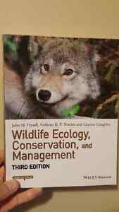 Wildlife Ecology, Conservation, and Management 3rd Edition Kitchener / Waterloo Kitchener Area image 1