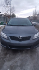 2009 corolla ce low milage