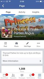 Kids Parties x £8 a head x check us out