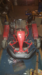 Go kart Swiss hutless max with yamaha kt100