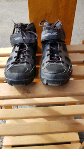 Shimano MT55 SPD bike shoes