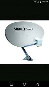 Shaw dish with XKU Lnb