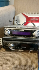 Variety of older but great working stereo equipment