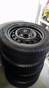 Honda Civic Winter Tires + Rims 5x114.3 lug - Michelin X-ICE Xi3