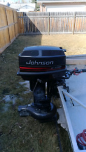 Johnson 25-18 horsepower jet outboard