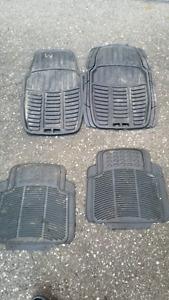 Winter car mats