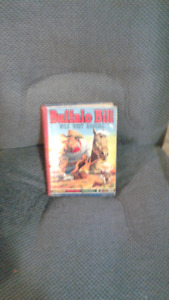 rare vintage buffalo bill wild west ( hard cover)