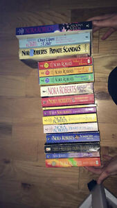 16 Nora Roberts books for sale