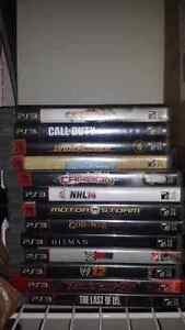 PS3 slim + Bunch of games