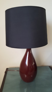 two identical lamps