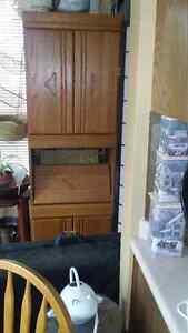! space saver desk cabinet