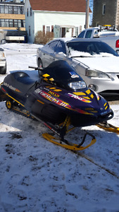 Very nice sled for sale or trade for 4x4 quad.