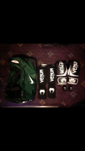 ADULT MMA GEAR WITH GYM BAG