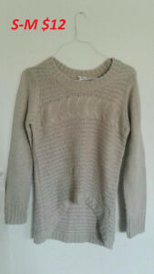 Sweaters, shirts, dresses for sale