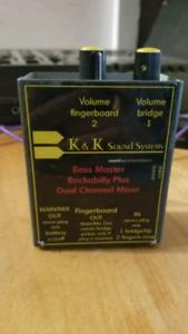 PreAmp contrebasse K & K sound system