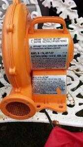 ventilateur pour jeux gonflable - air pump