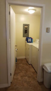 1 Bedroom pet friendly basement apartment. East Saint John.