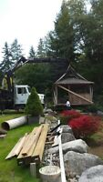 5 ton crane truck for hire(lower mainland and fraser valley too)