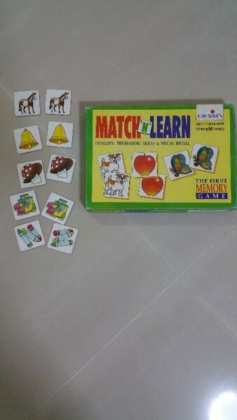 Memory game - match & learn