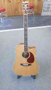 Blueridge BR-70CE Acoustic Electric Cutaway Guitar, repaired