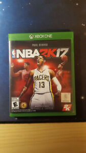 XBOXONE nba2k17 MINT  condition