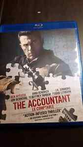 The accountant bluray,dvd and digital copy 15.00