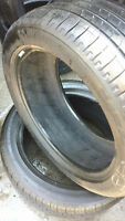 2 235/45/R17 Michelin All Season Tires Great Shape