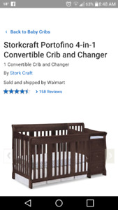 Storkcraft portofino 4 in 1 crib