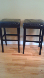 Two kitchen stools $40 for pair.