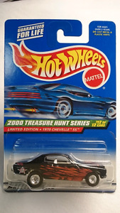 2000 HOT WHEELS TREASURE HUNT DIECAST 1970 CHEVY CHEVELLE SS RR