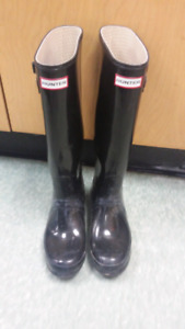 Hunter Boots- Size 8