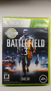 BATTLEFIELD 3 FOR XBOX 360 MINT CONDITION