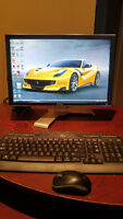 "Dell Inspiron 530s Desktop with 20"" monitor"