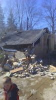 Farm clean ups and old barn removal