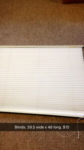 """39.5X48"""" blinds"""