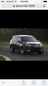Acura MDX 2009 - dealer financing available