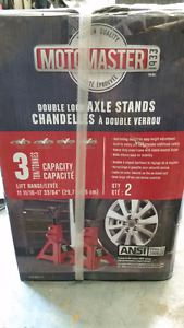 Motomaster 3 Tonne Jack Stands- New in box