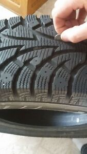 4 WINTER TIRES 2 MONTHS OLD Cambridge Kitchener Area image 3